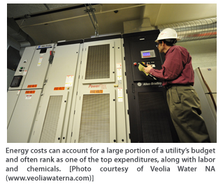 Reducing Energy Costs in Water Utilities