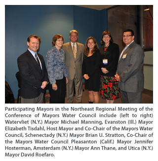U.S. Conference of Mayor Council Meets in Schenectady, N.Y.