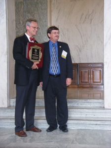 AWARDS:  Rep. Blumenauer Honored by NUCA