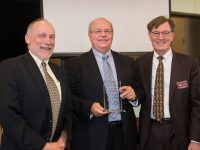 Retired CH2M Senior VP Honored as a Distinguished Alumni
