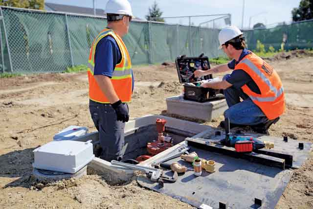 Water Main Leak Monitoring For Construction Risk
