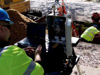 Flow Test Conducted on First U.S. Cement-Mortar Lined Iron Pipe…At 97 Years Old