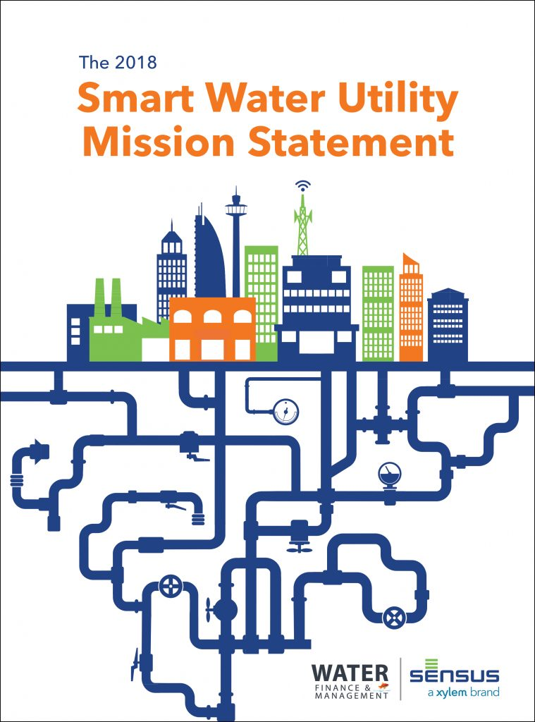 The 2018 Smart Water Utility Mission Statement Water