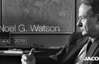 Noel Watson, former Jacobs CEO, passes away