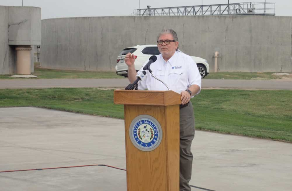 McAllen Public Utility Board trustee Charles Amos