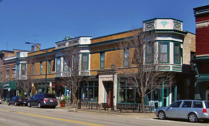 Downtown Libertyville