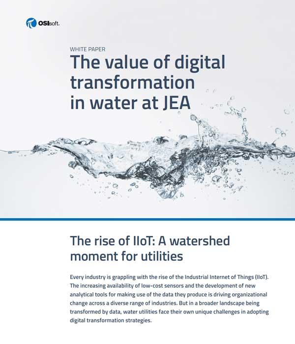 OSI Soft Digital Transformation in Water