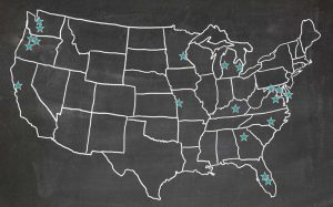 UAIM utility partners map